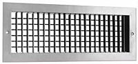 Model 520D-Double Deflection Louvered Supply Grilles with a Dampers